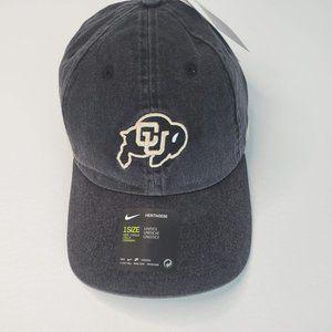 Colorado Buffaloes Nike Heritage 86 Logo Adjustabl